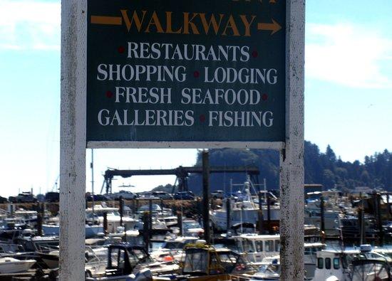 Port of Ilwaco Boardwalk, Washington