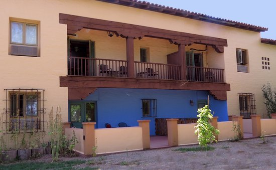 La Posada Hotel: The left 2/3 of that balcony is part of Room 210.