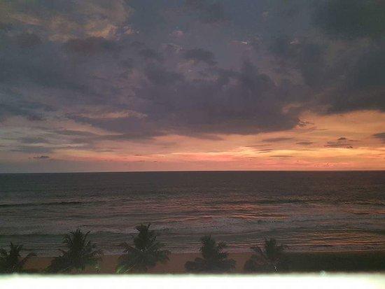 Kalutara, Sri Lanka: Sunset