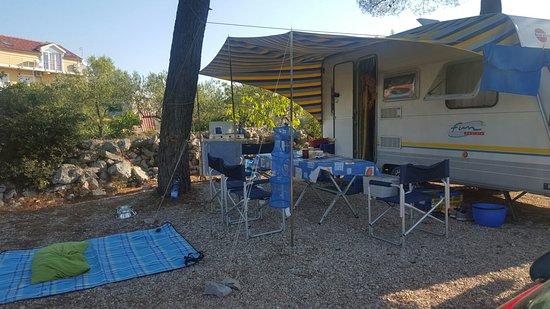 Brodarica, Croacia: Camping Sani