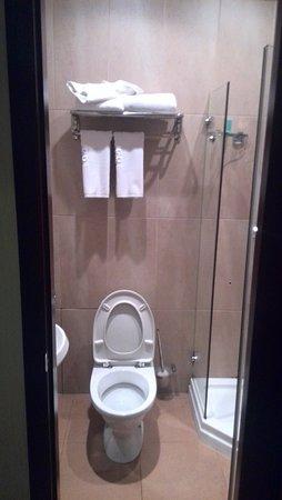 Oskemen, كازاخستان: Ванная с туалетом