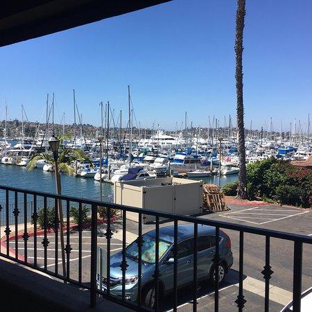 BEST WESTERN PLUS Island Palms Hotel & Marina: Balcony overlooked parking lot easily kept an eye on my car too
