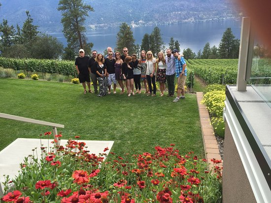 Penticton, Kanada: Wine tour with friends