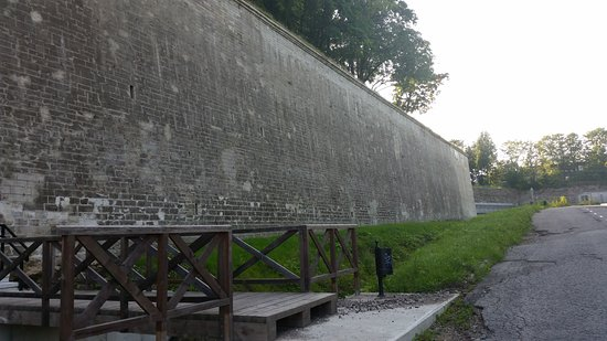 Narva, Estonya: bastion wall
