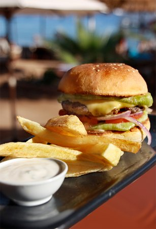 Sunshine Divers Club - Sharks Bay: Restaurant bei Sunshine Divers Club