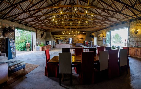 Plettenberg Bay Game Reserve, Sudáfrica: Safari Centre