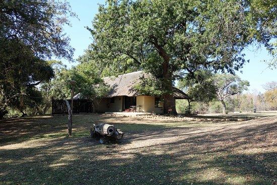Inyati Game Lodge: Habitaciones junto al rio