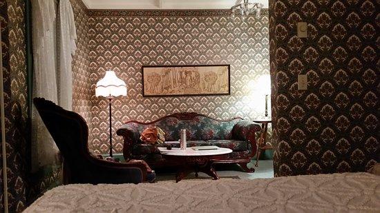 St. Elmo Hotel: Chambre lit king size St Elmo