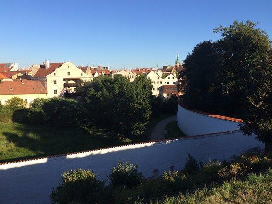 Pardubice, República Checa: Castle wall