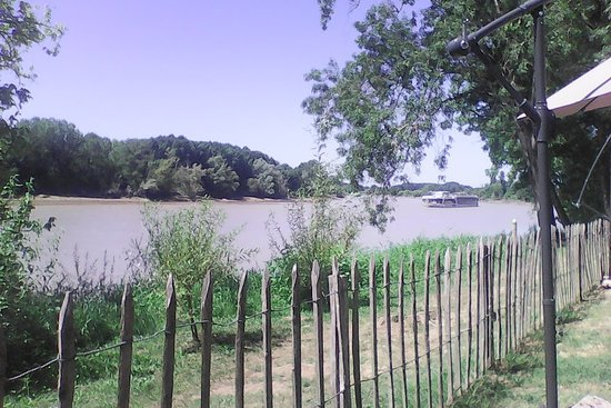 Lestiac-Sur-Garonne, Francja: Magnifique vue depuis notre table familiale :)