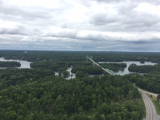 Lansdowne, Canadá: The view from the top