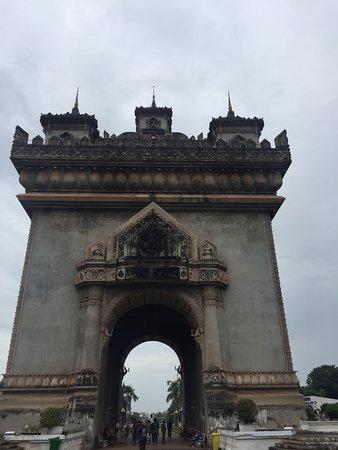 Vientiane, Laos: Walking time