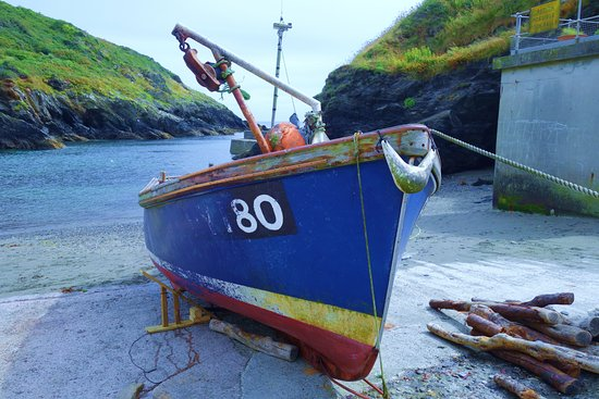 Fishing Boat on Portloe slipway