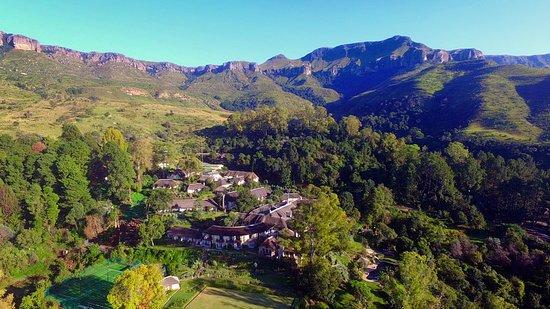 The Cavern Resort & Spa: The Cavern from Surprise Ridge