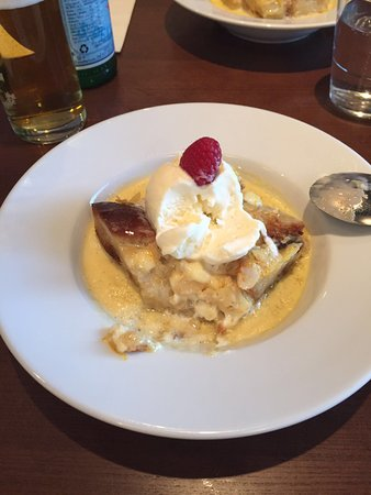 Airdrie, UK: Bread and butter pudding, the best ever