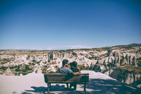 Sultan Cave Suites : On one of the tours organised by the hotel (overlooking Goreme)