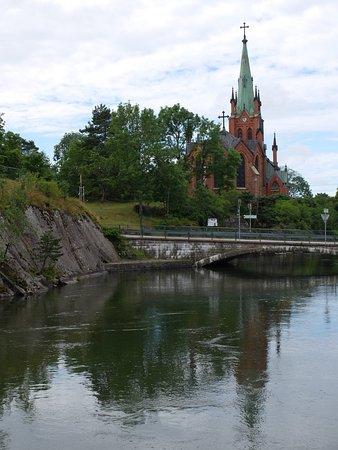 Τρολχάταν, Σουηδία: Her er der fri parkering og toiletter