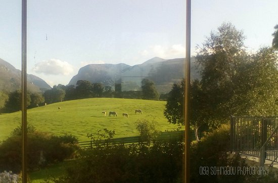 Beaufort, Irlande : View from my room at the Dunloe.