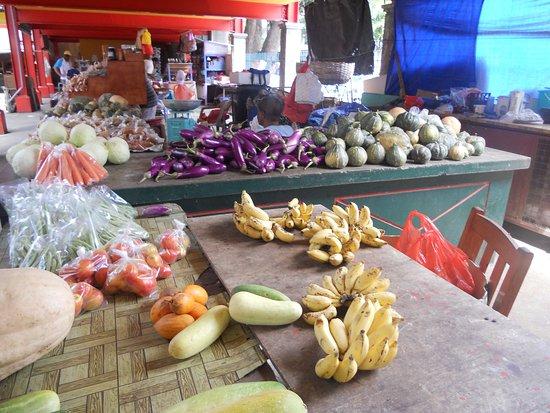 Victoria, Seychelles: Banchi frutta Vicotria Market