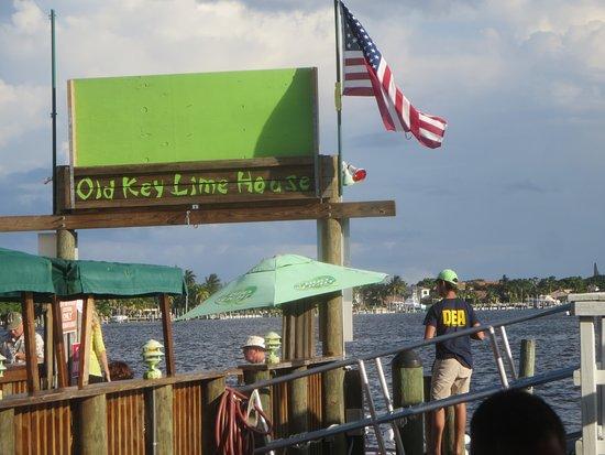 Lantana, فلوريدا: Boat Dock