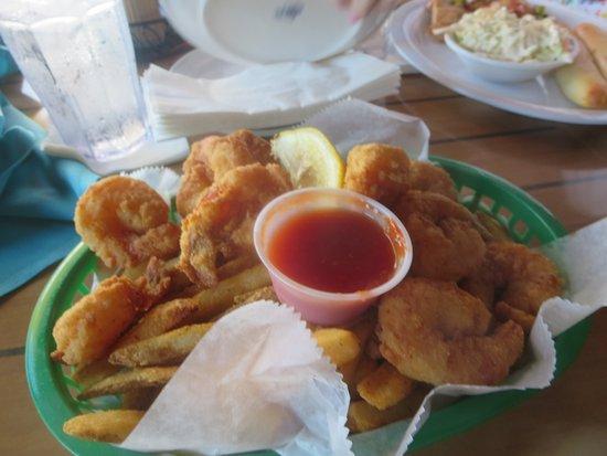 Lantana, فلوريدا: Fried Shrimp Basket
