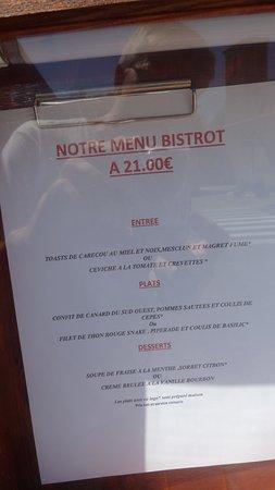 Condom, France : menu van 21 euro