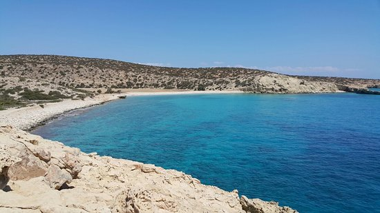 Gavdos, Greece: Παραλία Τρυπητή , Γαύδος 8/2016