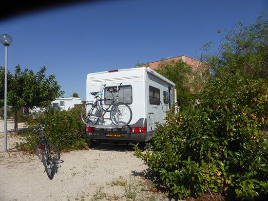 Agriturismo Arangea: de camper plaats