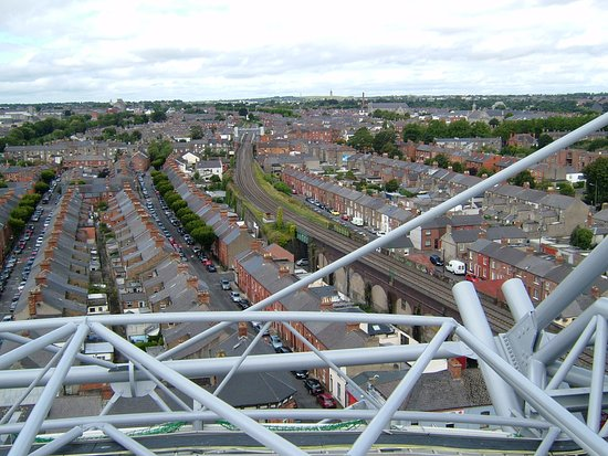Etihad Skyline Tour Croke Park Stadium: View from the roof of the Hogan stand