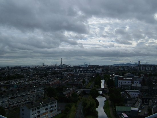 Etihad Skyline Tour Croke Park Stadium: View from the roof of the Cusack stand
