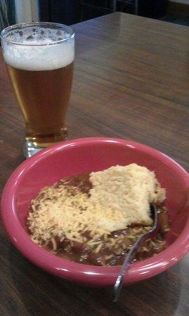 Kent, WA: Free chili & beer.