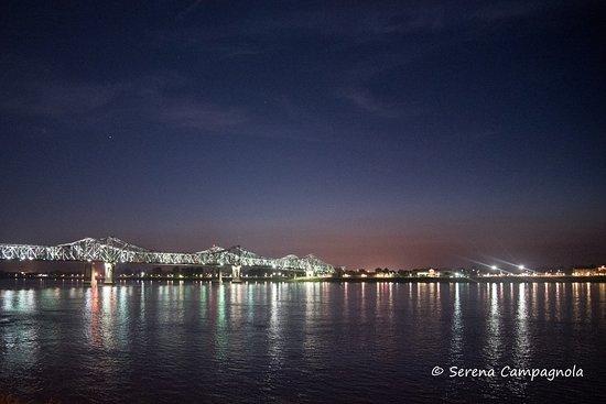Natchez, MS: Vista sul Mississippi