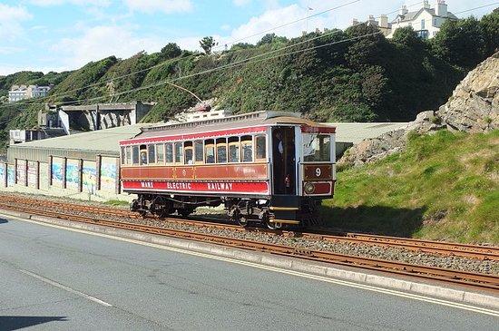 Manx Electric Railway at Douglas