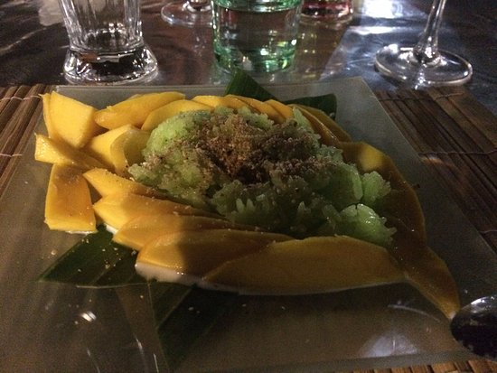 Torcy, Francja: Mango sticky rice