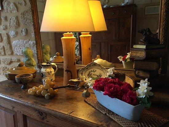 Chambres d'hotes Saint Emilion Bordeaux: Beau Sejour : Entrance Foyer
