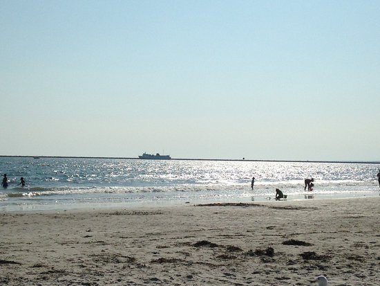 Roger W. Wheeler State Beach: Late Day View