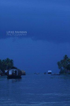 Kuttanad, Indie: Punnamada Lake & Surroundings