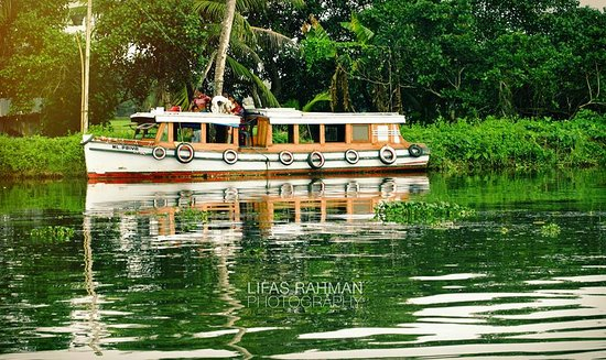 Kuttanad, อินเดีย: Punnamada Lake & Surroundings