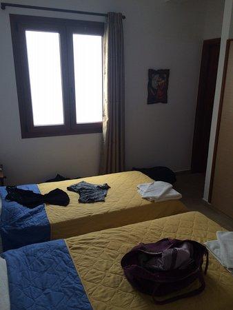 Vassiliki Rooms : Chambre qu'on a eue donc pas celle réservée