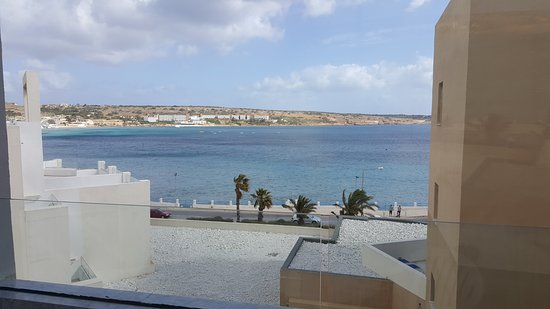 db Seabank Resort + Spa: This is the view from the front of the hotel (sea view)
