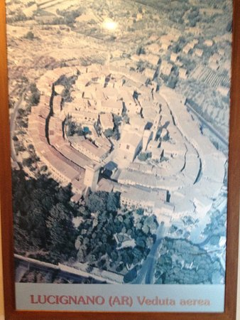 Lucignano, Ιταλία: mapa del museo