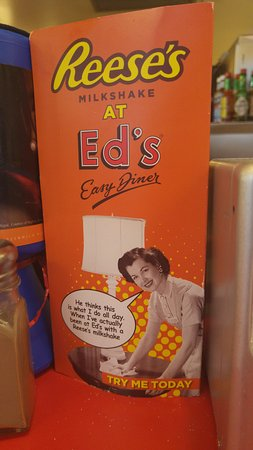 Ed's Easy Diner - Trocadero : Reeses special