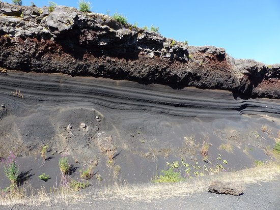 Volcan De Lemptgy Vue Diffrentes Couches Du