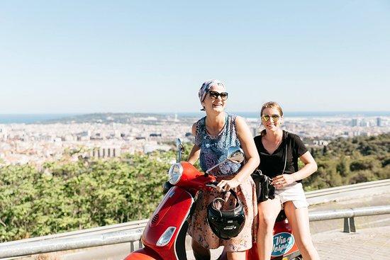 Via Vespa Rent a scooter: Fun in Barcelona