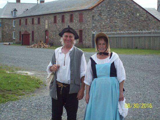Louisbourg, Canada: typical townspeople