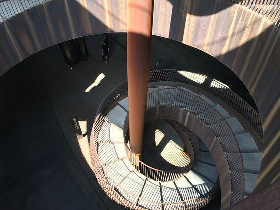 San Casciano in Val di Pesa, Italia: Escalera Moderna