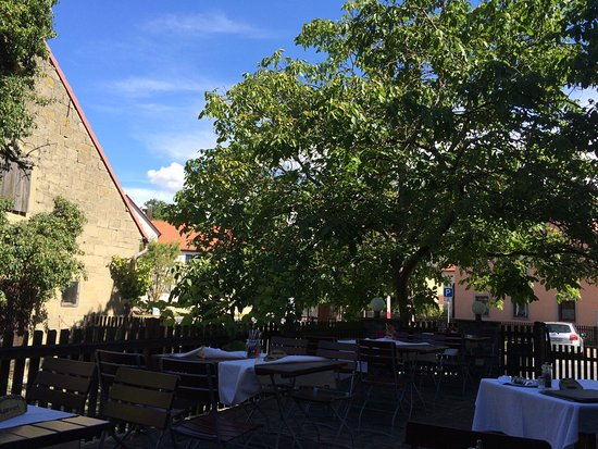 "Castell, Germany: ""Bier/Wein""garten"