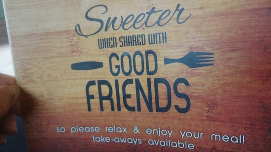 Port Elizabeth, África do Sul: Sweeter when shared with friends