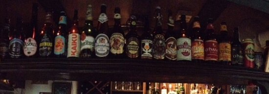 Cronin's Cafe & Guesthouse B&B: beer selection