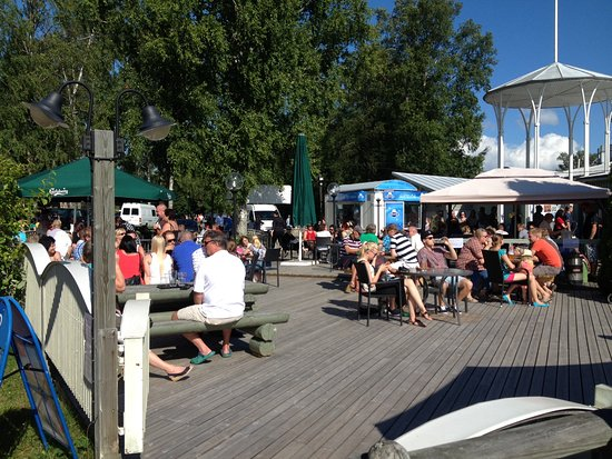 Heinola, Finlândia: front terrace